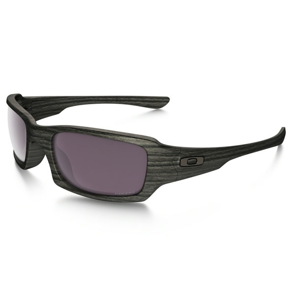 Cheap Oakley FIVES SQUARED™ PRIZM™ DAILY POLARIZED WOODGRAIN COLLECTION OO9238-19 Men Online