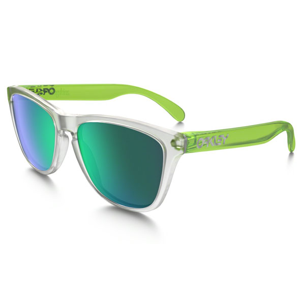 Cheap Oakley FROGSKINS® COLORBLOCK COLLECTION OO9013-B455 Men Online
