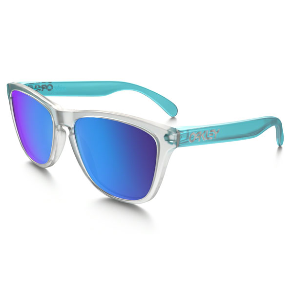Cheap Oakley FROGSKINS® COLORBLOCK COLLECTION OO9013-B255 Men Online