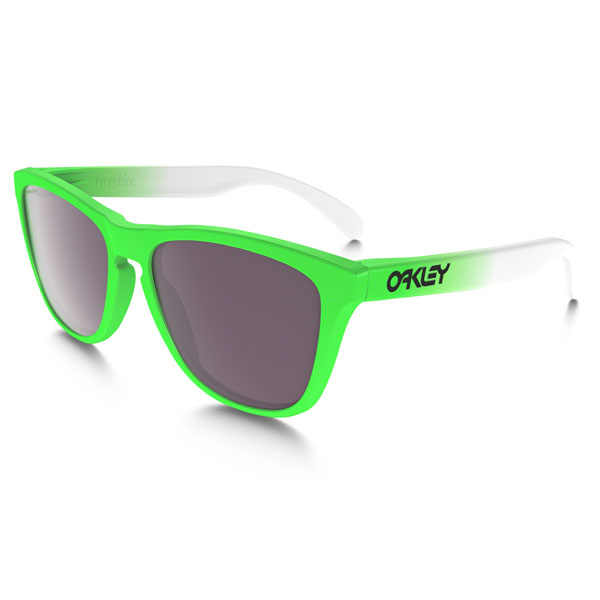 Cheap Oakley FROGSKINS® PRIZM™ DAILY POLARIZED GREEN FADE EDITION OO9013-99 Men Online